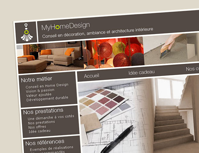 My home design - charte graphique