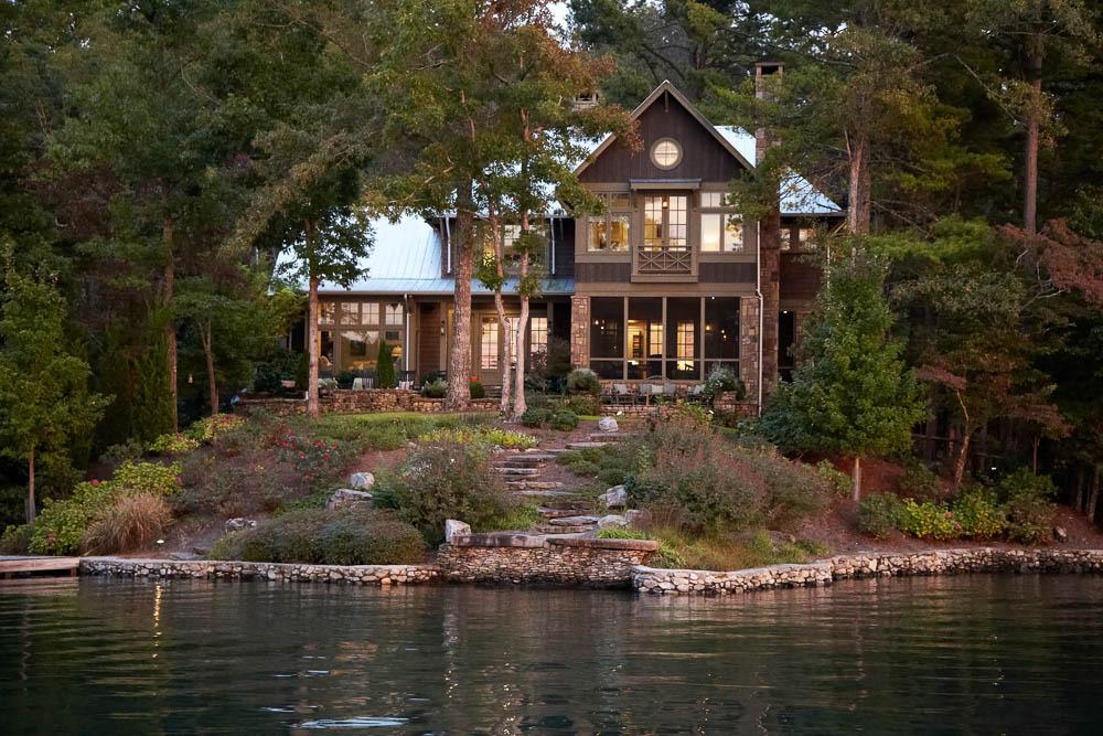 Lake burton pritchett dixon residential design for Lake house builders